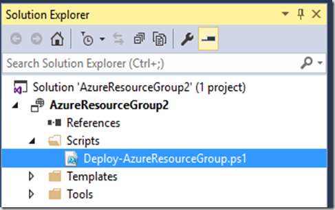 ARM – Visual Studio Deployment With Oct 2015 Azure PowerShell